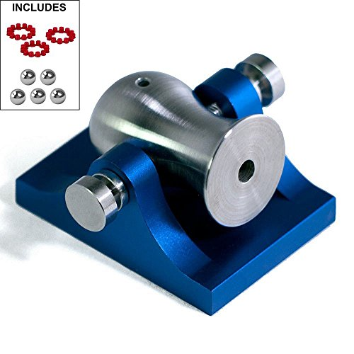 Pocket Artillery Mini Cannon - Blue w/ Stainless Hardware - Includes Accessories