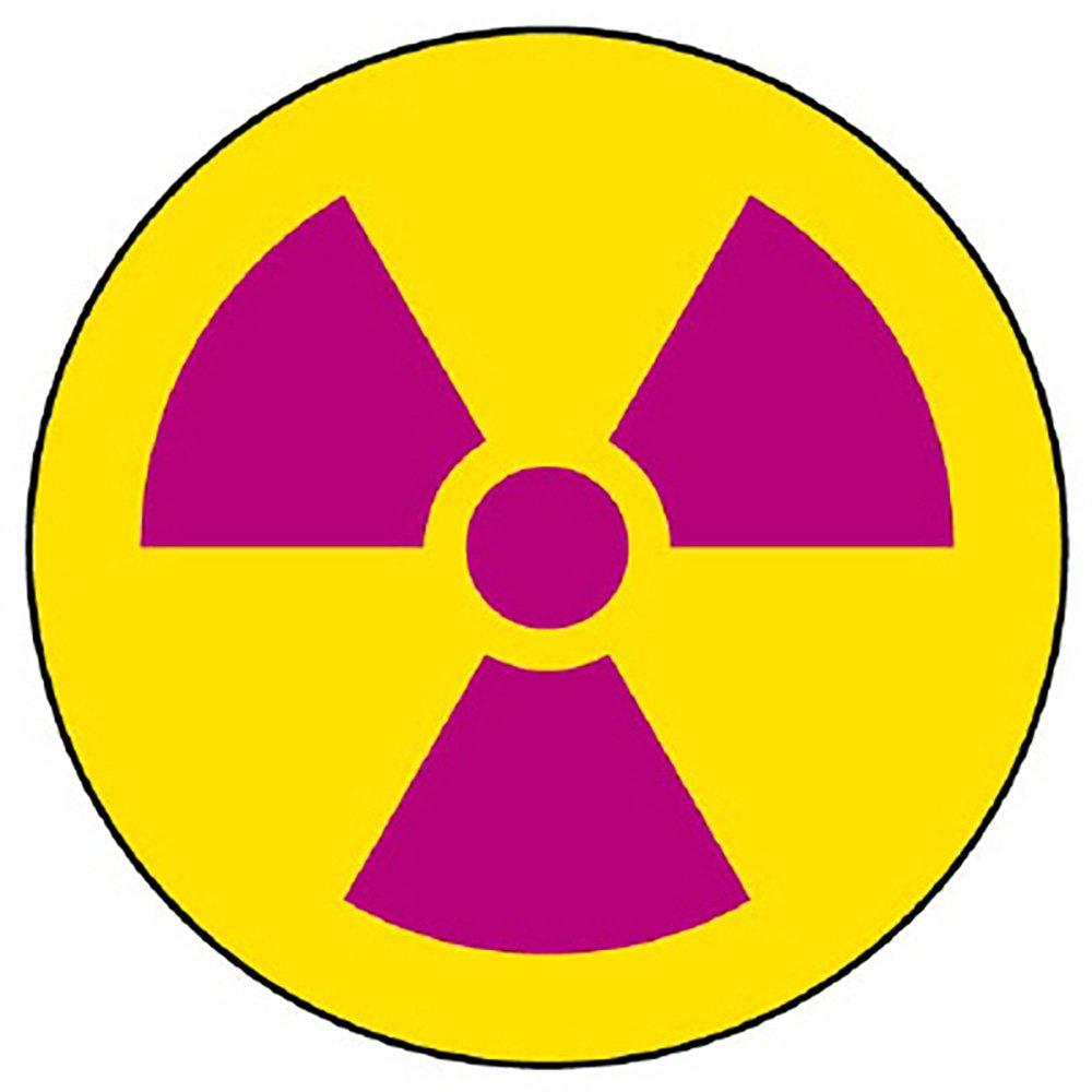 Amazon | ユニット 放射能標識 817-75 ステッカー 放射能マーク | 安全標識 | 産業・研究開発用品 通販