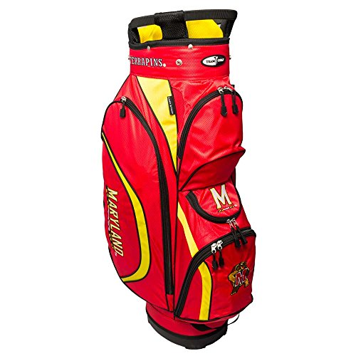 Team Golf NCAA Clubhouse Cart Bag, Maryland by Team Golf