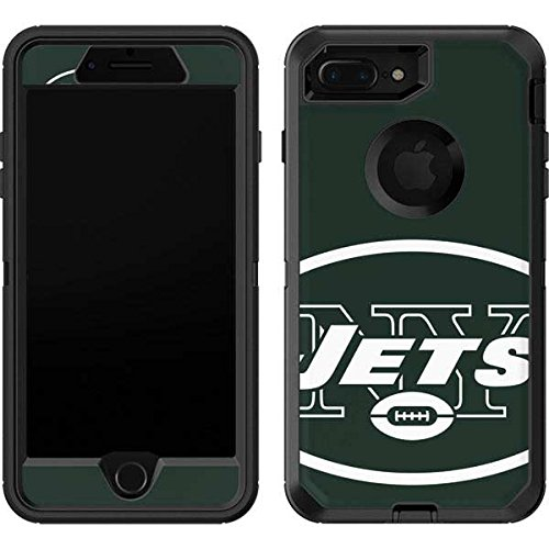 (Skinit New York Jets Large Logo OtterBox Defender iPhone 7 Plus Skin for CASE - Officially Licensed NFL Skin for Popular Cases Decal - Ultra Thin, Lightweight Vinyl Decal Protection)