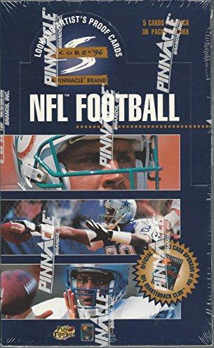 (1996 Score Pinnacle NFL Football Box)
