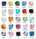 Wholesale lot 500 Bicone 4mm Swarovski #5328 Crystal Beads 25colors