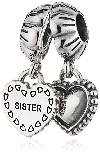 PANDORA My Special Sister Charm, Sterling Silver, One Size