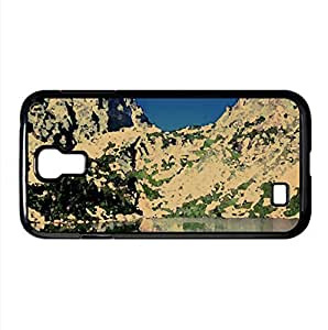 Mountain Lake 24 Watercolor style Cover Samsung Galaxy S4 I9500 Case (Mountains Watercolor style Cover Samsung Galaxy S4 I9500 Case)