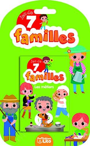 Jeux 7 Familles - les métiers - dès 5 ans