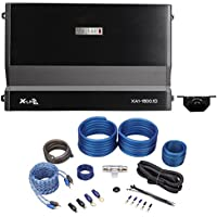 Package: MB Quart XA1-1500.1D 1500w RMS X-Line Series Mono Class D Car Audio Amplifier With Bass Remote + Rockville RWK4CU 100% Copper Full-Spec 4 AWG Complete Car Amplifier Installation Kit