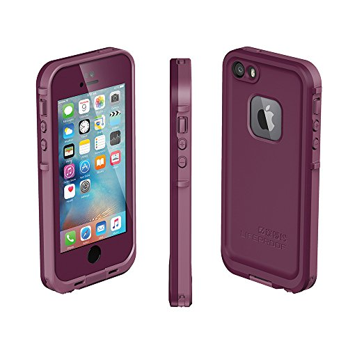 huge discount 6c6fa 5659a NEW LifeProof FRĒ SERIES Waterproof Case for iPhone 5/5s/SE - Retail  Packaging - CRUSHED (STOMP PURPLE/PADDLE PURPLE/SKYFLY BLUE)