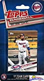 Minnesota Twins 2017 Topps Baseball EXCLUSIVE Special Limited Edition 17 Card Complete Team Set with Miguel Sano, Byron Buxton & Many More Stars & Rookies! Shipped in Bubble Mailer! WOWZZER!