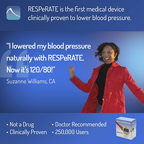 RESPeRATE Deluxe Duo: Device for Lowering High Blood Pressure Naturally. The only Non-Drug Hypertension Treatment. With Backlight for Use At Night. by RESPeRATE (Image #2)