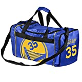 Golden State Warriors Official NBA Duffel Gym Bag - Kevin Durant #35