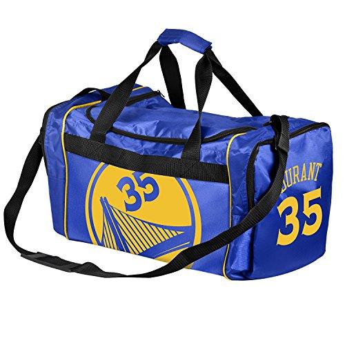 Golden State Warriors Official NBA Duffel Gym Bag - Kevin Durant #35
