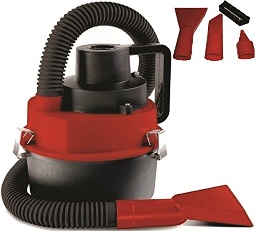 Handheld Turbo Vac - PrimeTrendz TM Hand Held Turbo WET & DRY Vac Car Truck Vacuum W/ 12V Car Adapter
