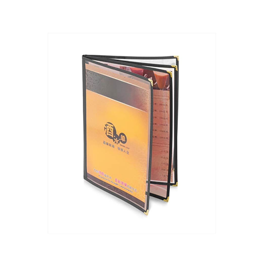 QSJY File Cabinets Transparent Loose-Leaf Growing Archives Photo Albums PVC and Leather 2432CM (Size : 4)