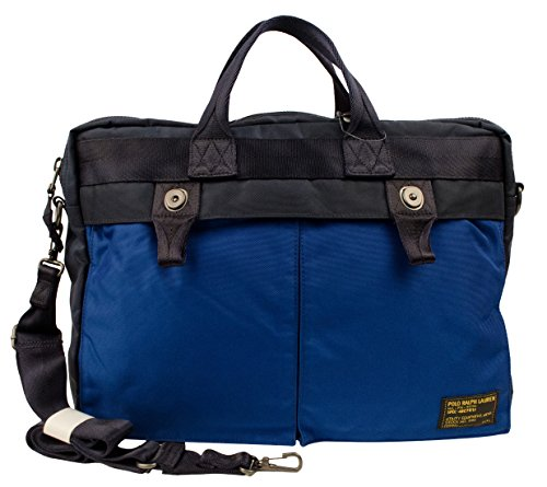 Polo Ralph Lauren Men's Military Blue Nylon - Bag Polo Ralph