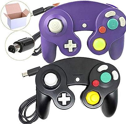 AOLVO - Controladores de mando para Nintendo Switch Wii/GameCube (2 unidades): Amazon.es: Hogar