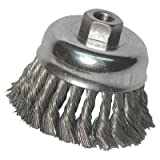 Knot Cup Brushes - 2-3/4'' knot cup brush .014 5/8-11 retail