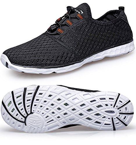 2 On Shoes Women's Water Tianyuqi Black Slip Mesh Zx8tCq0