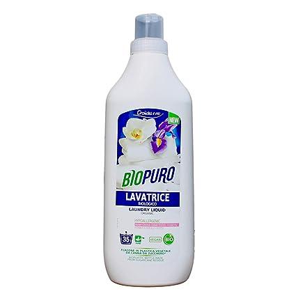 BIOPURO - Detergente líquido orgánico para lavadora - Orquídea ...