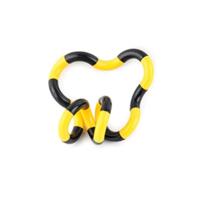 1pc New Strange Decompression Twisting Toys (Jaune Noir)