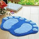Sitting room sofa tea table Foot Print carpet Kitchen bedroom bathroom door mat big foot mat bath mat