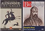 The True Story Of Alexander The Great , Biography Genghis Khan : Military Genius 2 Pack