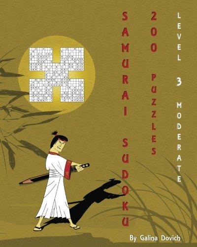 Download Samurai Sudoku 200 Puzzles: Level 3 Moderate (Volume 3) PDF