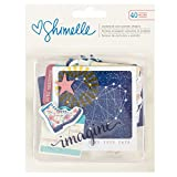 American Crafts Shimelle Starshine Ephemera 40 PC