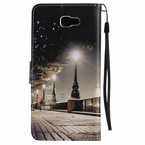 J7 Samsung Nxt Protector Cáscara Park Cover galaxy Piel Cuero Pu Estuches Ranura Noche Funda On Billetera Galaxy Prime Street Carcasa Estilo Para Diseño Yiizy Tarjetas EqUwYHdE