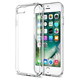 Image of iPhone 7 Case, Trianium [Clarium Series] Premium Shock Absorption TPU Bumper Cushion + Scratch Resistant Clear Protective Cases Hard Cover for Apple iPhone 7 2016 - Clear (TM000019)