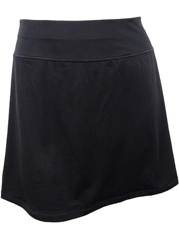 b8678f0234d Danskin Now Women s Plus Size Activewear Athletic Cotton Blend Skort ...