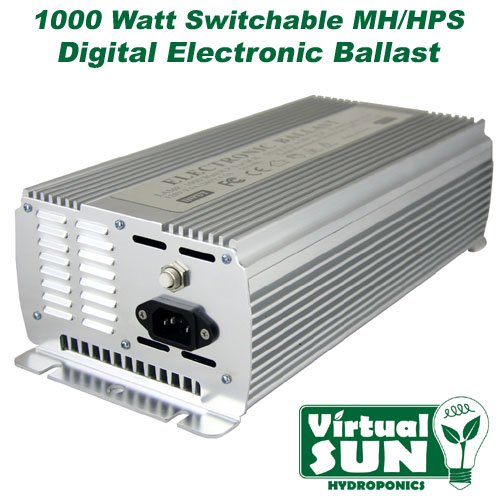 51KfUPaQk5L Virtual Sun VS1000WDB 1,000-Watt Digital Grow Light Ballast
