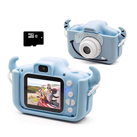 FXQIN Cámara Digital para niños, 1080P 12 MP Dual Selfie Photo ...