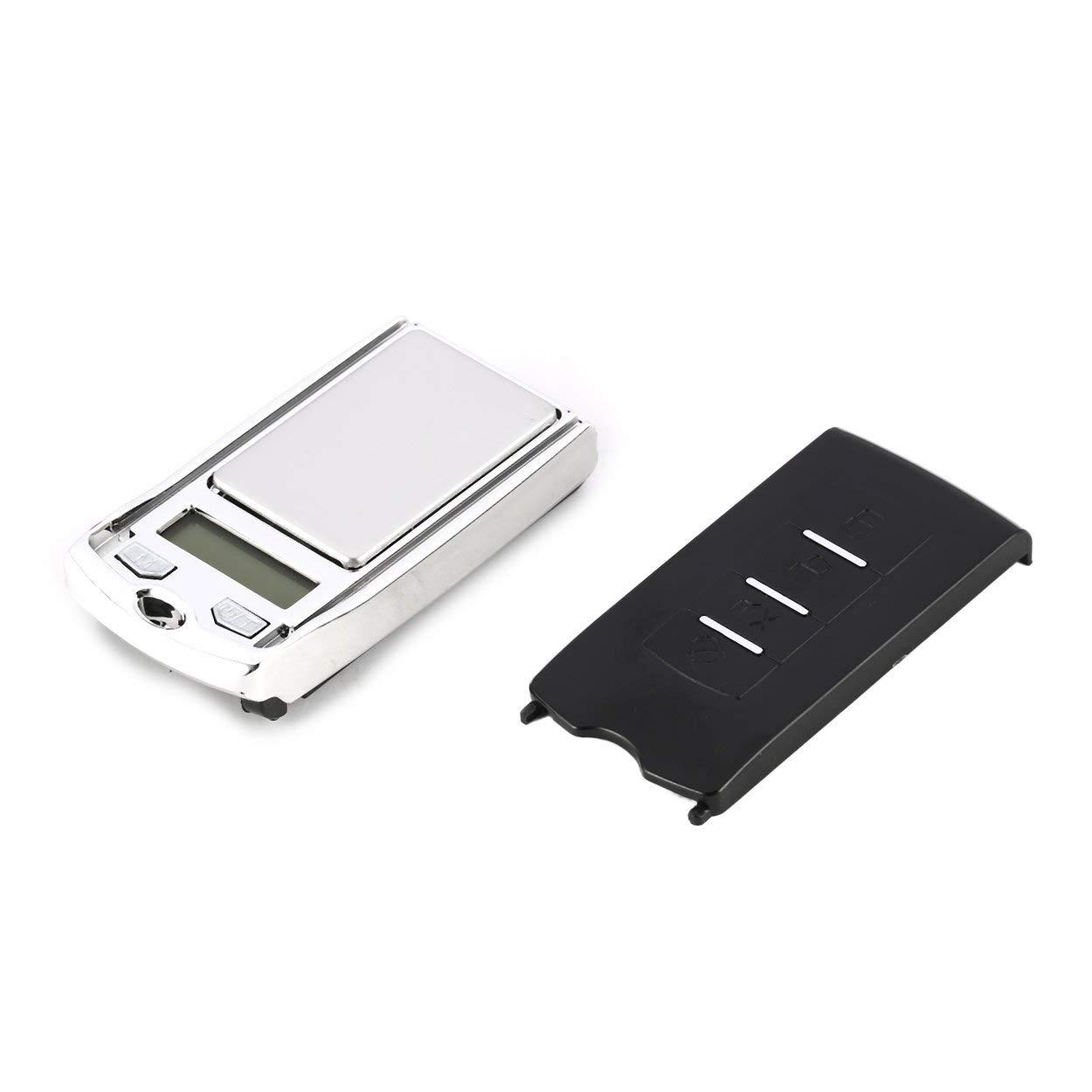 Lorenlli Mini balance de poche numérique, poids de précision g/dwt / ct de précision 200 g 0.01g pour pesage de bijoux de cuisine et de pharmacie