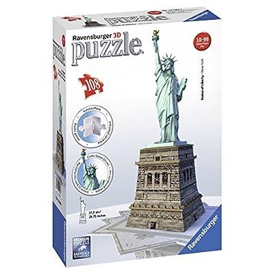 Puzzle 3D da 108 Pezzi marca Ravensburger - Statua della Libertà