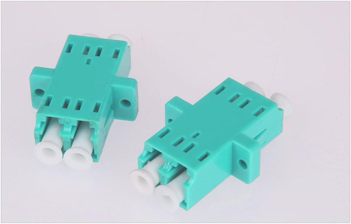 6x ST-SC Connector Fiber Optic Multimode Duplex Coupler Adapter Plastic Coupling