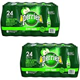 Perrier Sparkling Natural Mineral Water, Green Apple, 16.9 Ounce (Pack of 48)