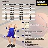 High Energy Long Basketball Shorts for Men, 2