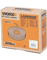 WORX WA0177 begrenzingsdraad voor Landroid robotmaaier – 200 m stabiele begrenzingskabel voor het beperken van het maaigebied