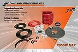 SCOSCHE X2AKC2500 3200 Watt AFC Dual Amp Kit