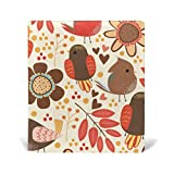 Book Covers Notebook Textbook Jumbo Size School Educational Supplies Office Homecoming Bird Leaf