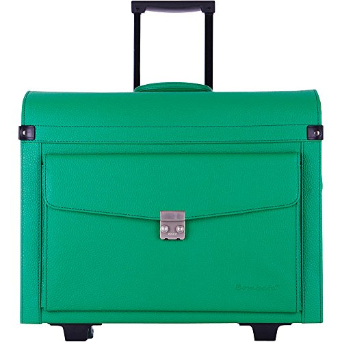 bombata-trolley-aviatore-for-15-inch-laptop-one-size-emerald-green