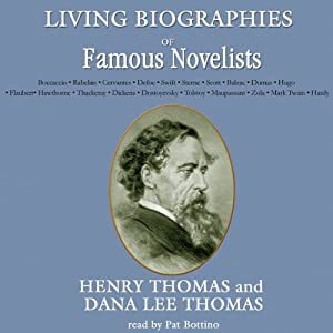 Living Biographies of Famous Novelists Audiobook