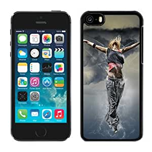 Fantasy Girl Flying Hard Plastic iPhone 5C Protective Phone Case