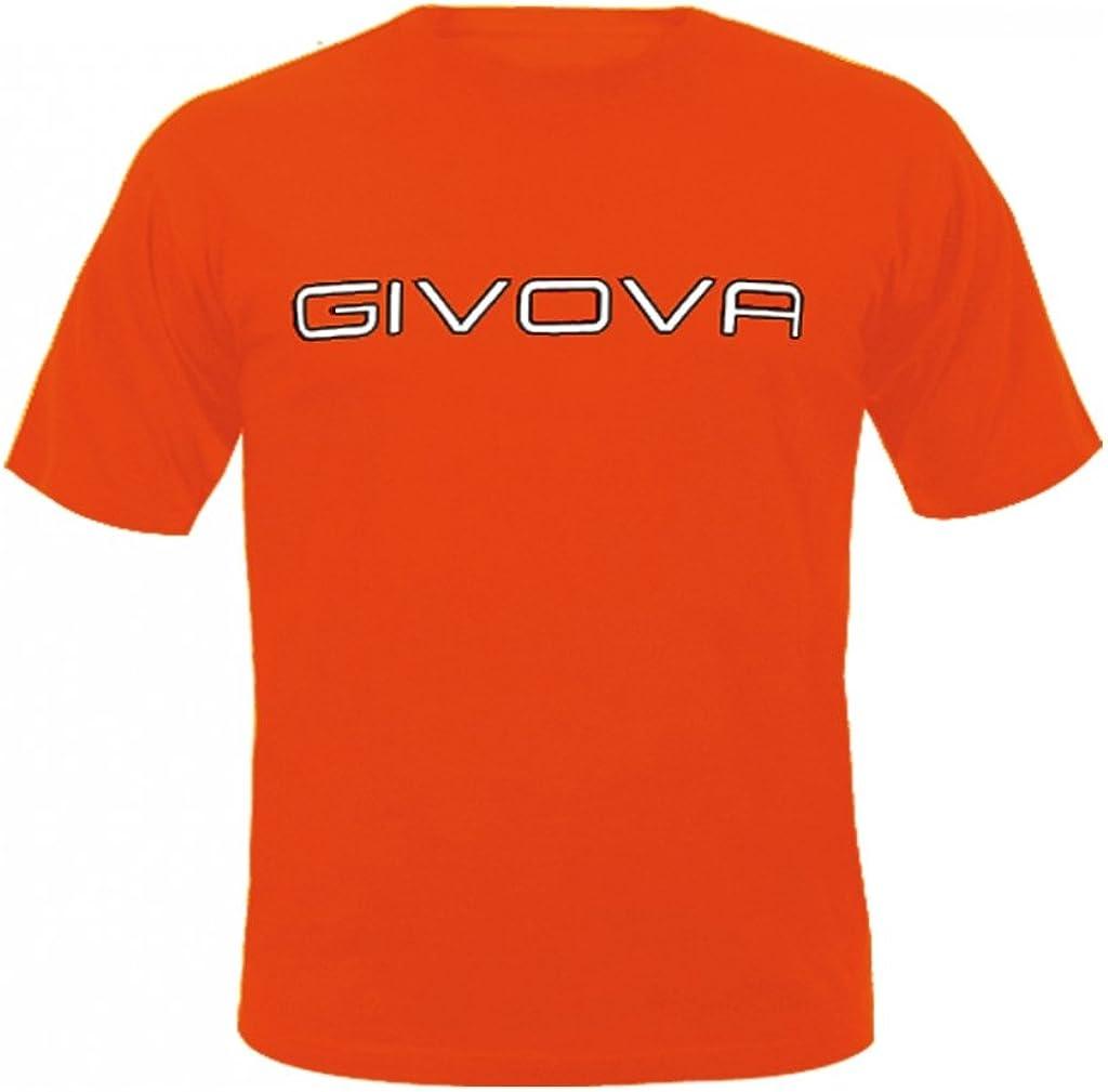 Manica Corta//Home Shop Italia Modello t-Shirt Spot Marchio Givova