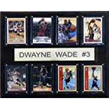 NBA Dwyane Wade Miami Heat 8 Card Plaque