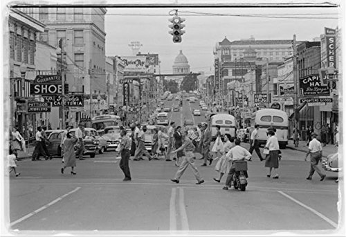 HistoricalFindings Photo: Downtown Little Rock,Arkansas,AR,September 17,1958,Capitol,Pattison Jewelers