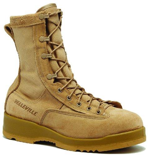 Waterproof Tan Safety Toe Boot - 8.5W (Belleville Gore Tex)