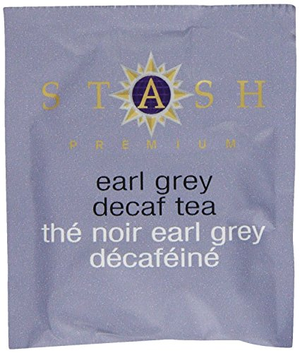 Stash Tea Decaf Earl Grey Black Tea 10 Count Tea Bags in Foil (Pack of 12) (packaging may vary) Individual Decaffeinated Black Tea Bags for Use in Teapots Mugs or Cups, Brew Hot Tea or Iced Tea by Stash Tea (Image #3)