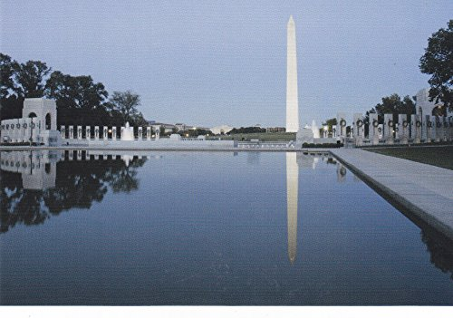 USNATMON14 - National Mall - Washington, DC - A US National Monuments Postcard featuring America's most famous national monuments and man made landmarks .. .. from - The Mall Landmark