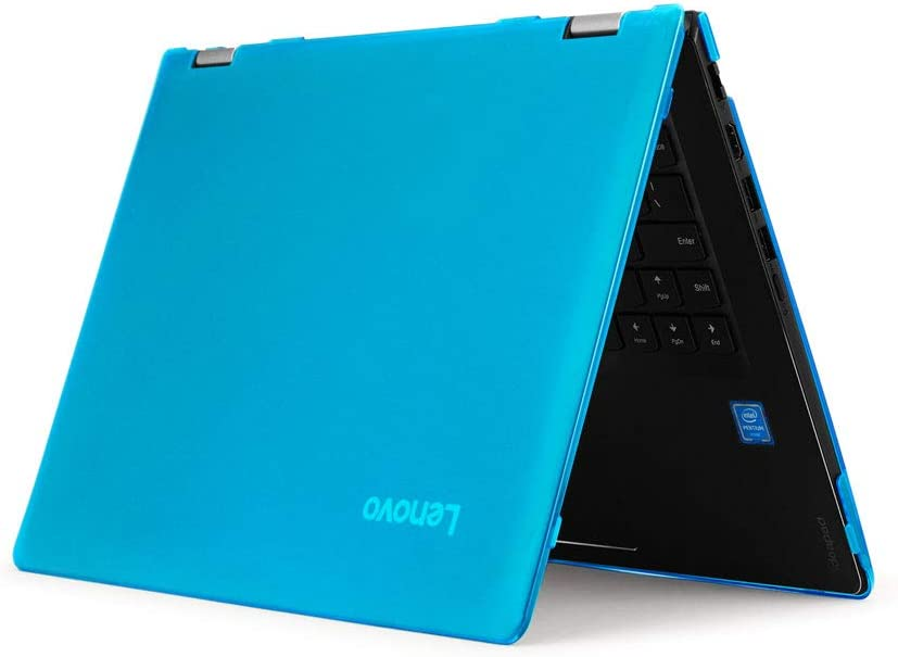 "mCover Hard Shell Case for 15.6"" Lenovo Yoga C740 (15) Series 2-in-1 Laptop (NOT Fitting Other Lenovo laptops) (Yoga_C740_15 Aqua)"